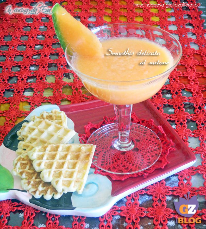 Smoothie delicato al melone
