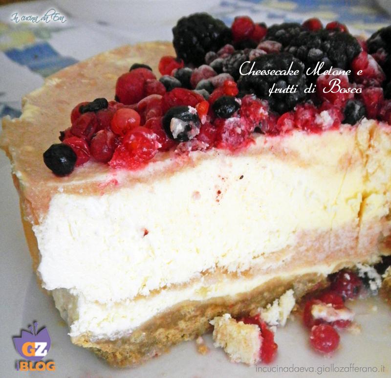 cheesecake melone e frutti di bosco4