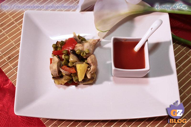 pollo in agrodolce2
