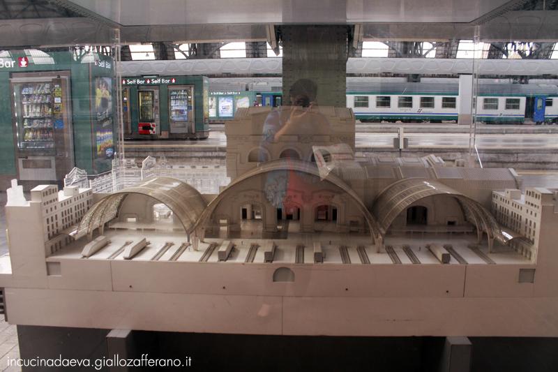 io alla stazione di Milano centrale
