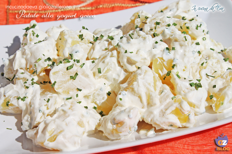 Patate allo yogurt greco