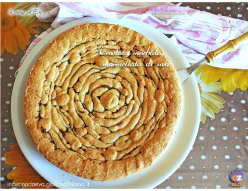 Crostata spirale con confettura di uva