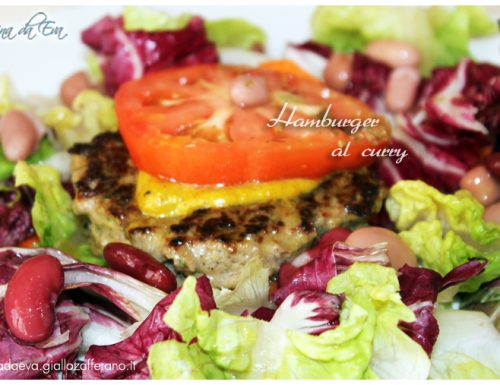 Hamburger al curry
