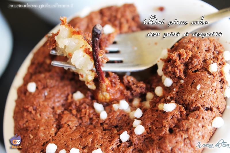 Mini plum cake con pera a sorpresa10
