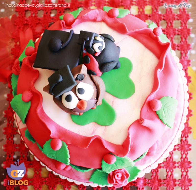 Torta Gufetto con tutorial  3b5f49cc6ad6