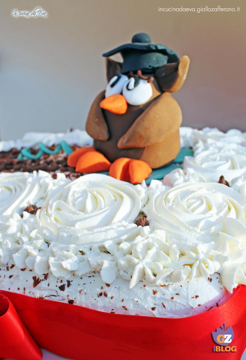 Cake Design Ricette Torte : Torta Gufetto con tutorial tutorial gufetto in pasta di ...
