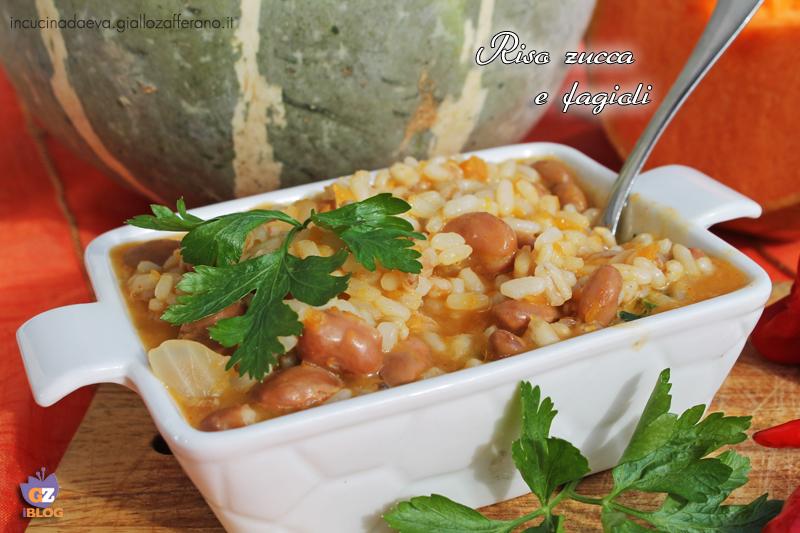 riso zucca e fagioli1