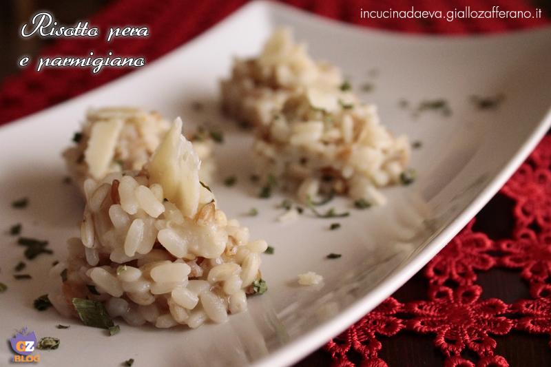 risotto pera e parmigiano