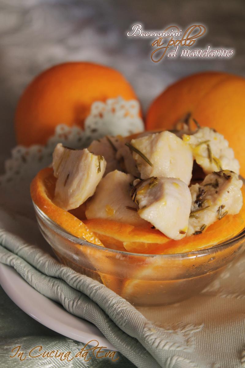 bocconcini di pollo al mandarino