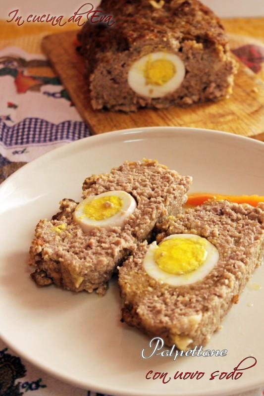 Polpettone con uovo sodo