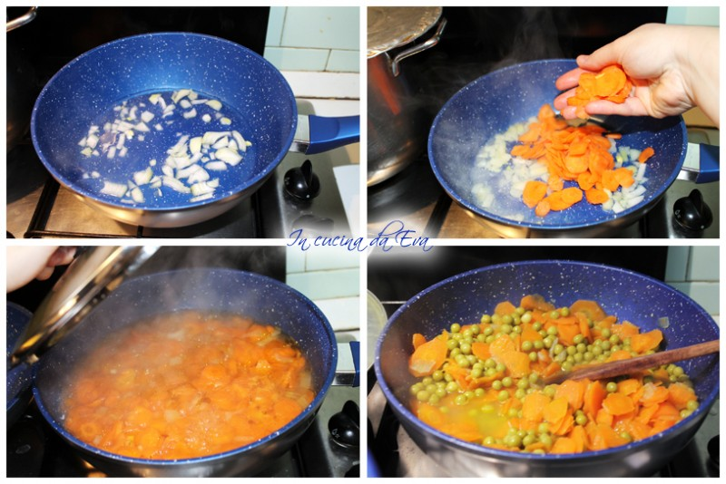 Piselli e carote