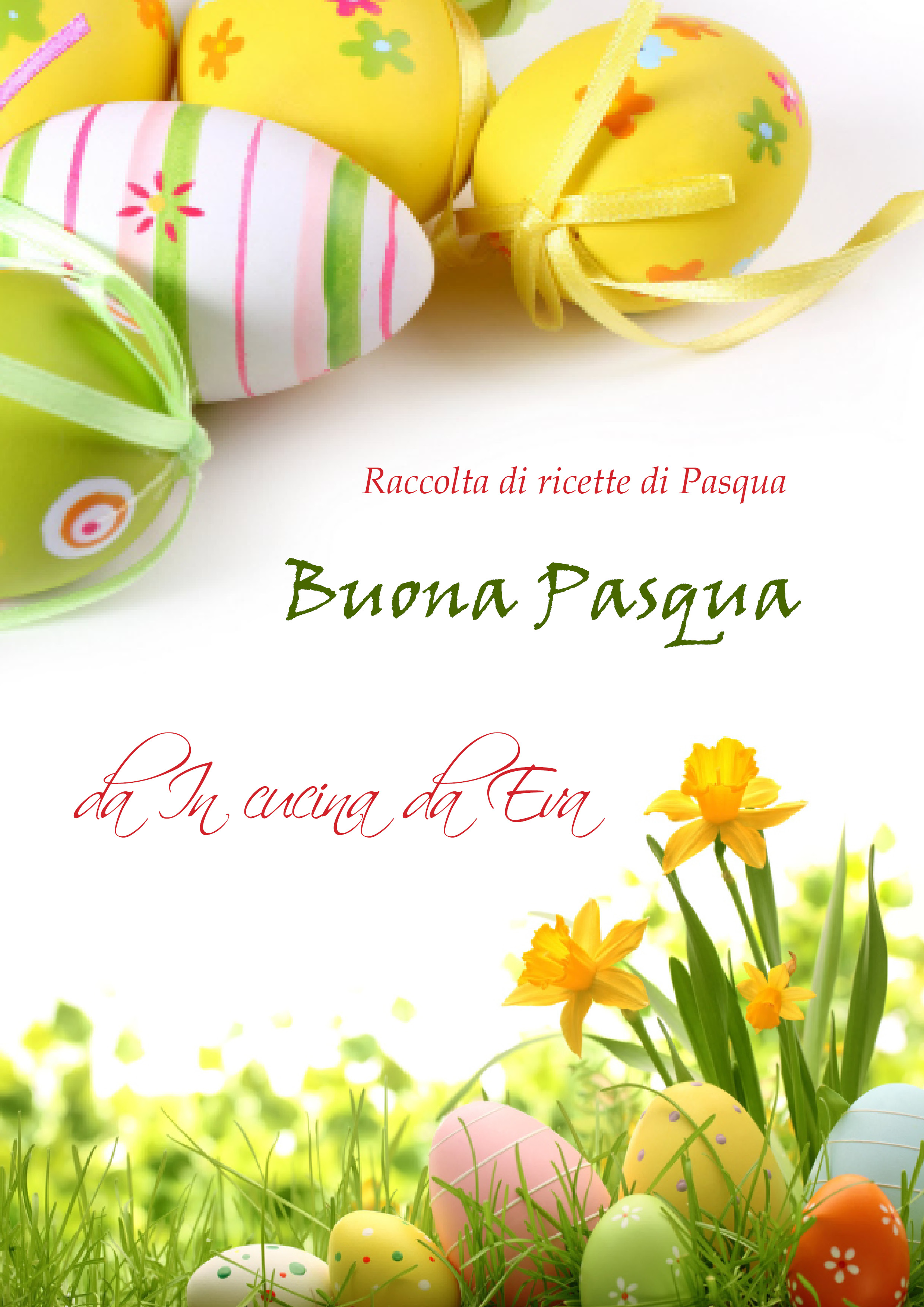 raccolta di ricette di Pasqua