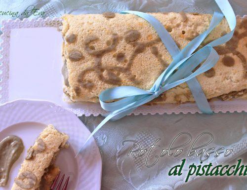 Rotolo basso al pistacchio