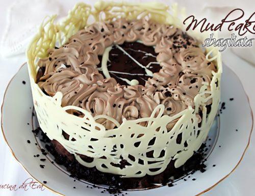 Mud cake decorata
