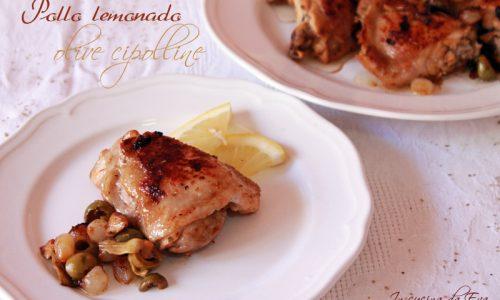 Pollo lemonado olive cipolline
