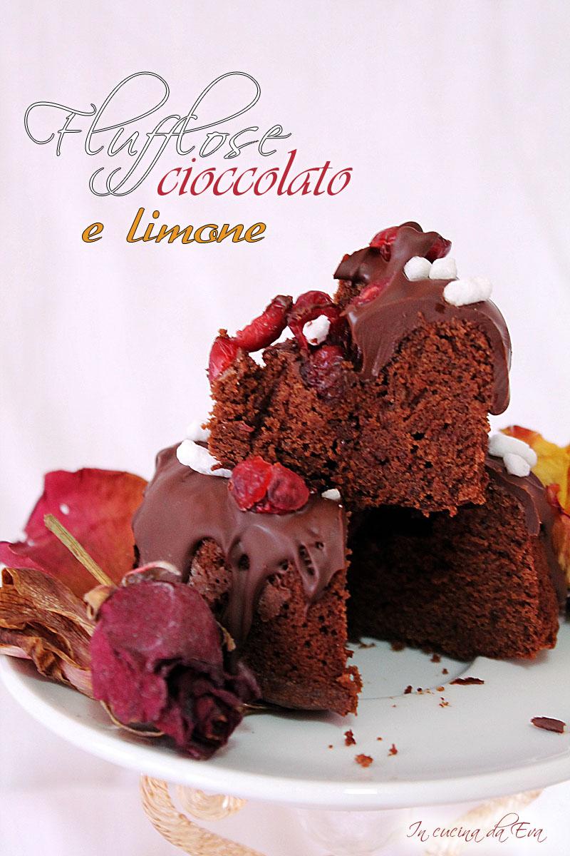 Flufflose cioccolato e limone