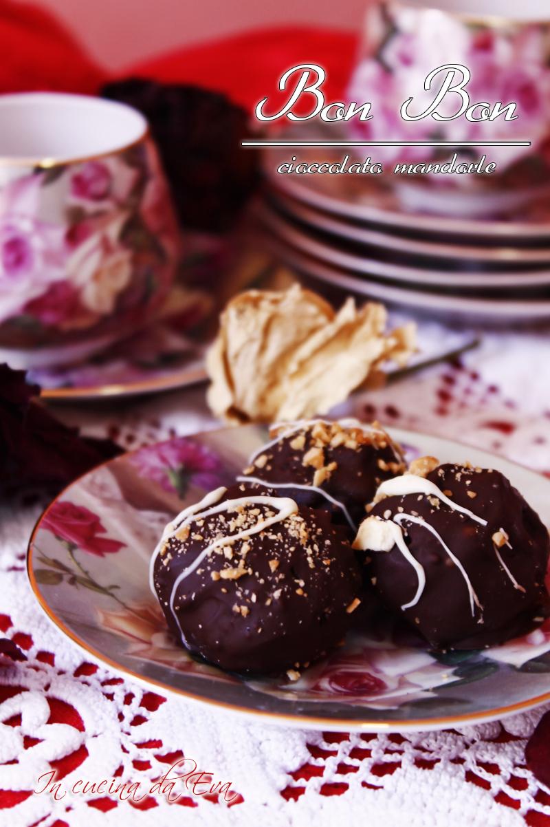 Bon bon cioccolato mandorle