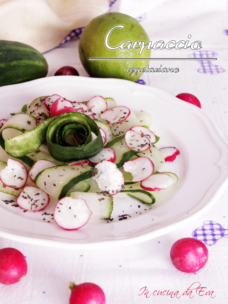 Carpaccio vegetariano