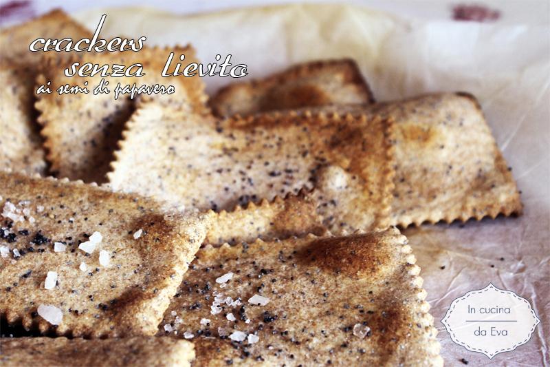 Crackers senza lievito