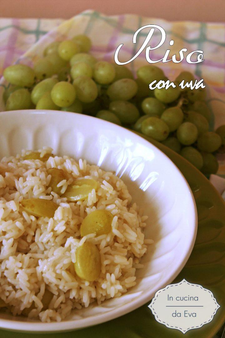 Risotto con uva