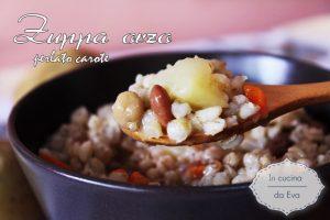 Zuppa orzo perlato carote