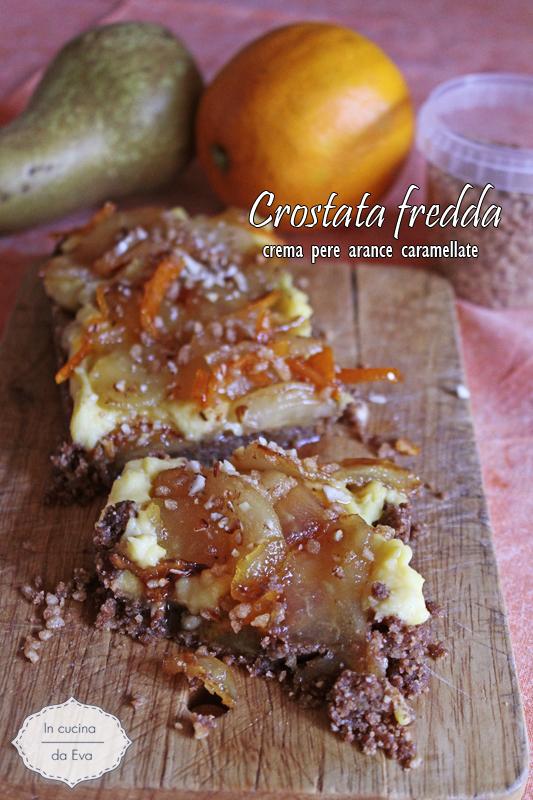 crostata fredda pere arance caramellate2