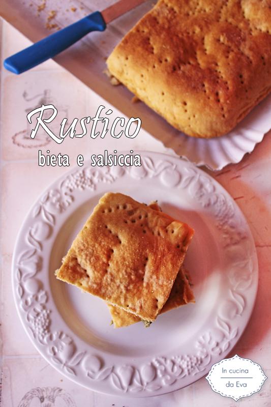 Rustico bieta e salsiccia