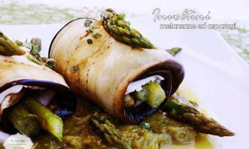 Involtini melanzane ed asparagi