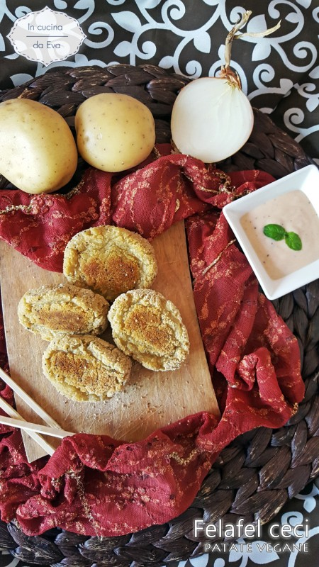 Felafel ceci patate vegane