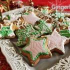 Gingerbread elfi e stelle nataliziec
