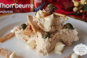 Thon beurre mousse
