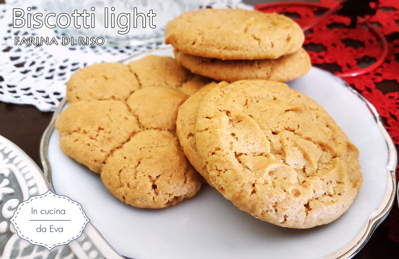 Biscotti light farina di riso