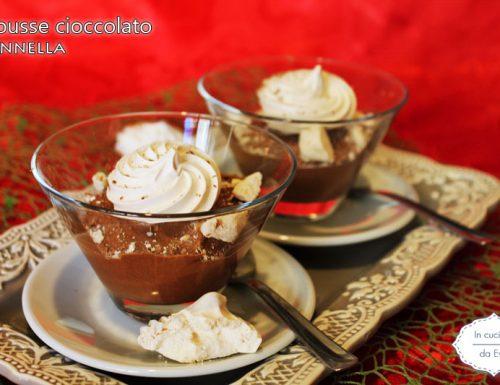 Mousse cioccolato cannella