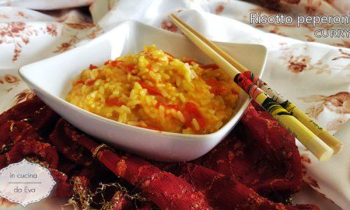 Risotto peperoni curry