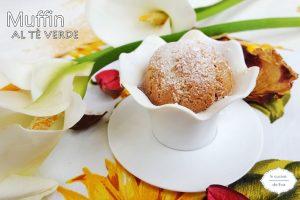 Muffin al tè verde
