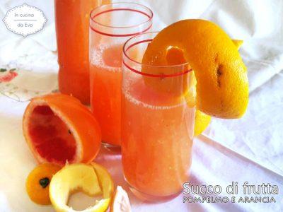 Succo di frutta pompelmo e arancia