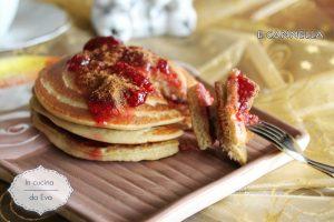 Pancake senza glutine e cannella