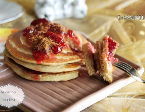 Pancake senza glutine con cannella