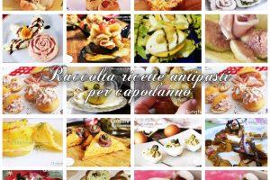 Raccolta ricette antipasti per capodanno
