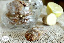 Caramelle zenzero limone miele