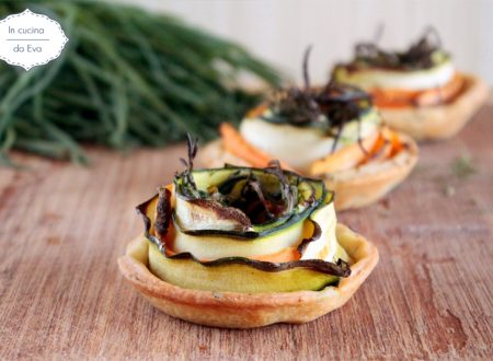 Tartellette con agretti