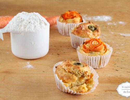 Muffin di carote
