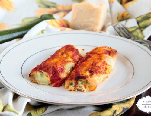 Cannelloni di pasta fillo