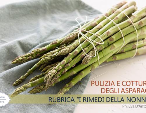 Pulizia e cottura degli asparagi