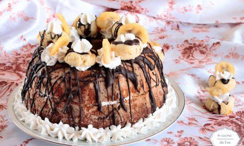 Torta al cocco e banana