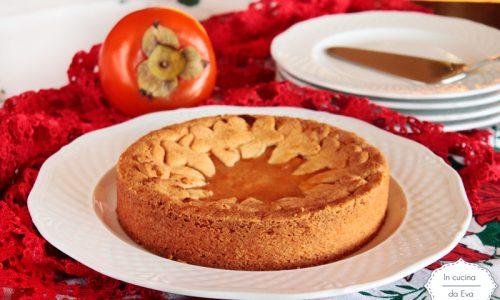 Crostata alla crema di cachi vaniglia