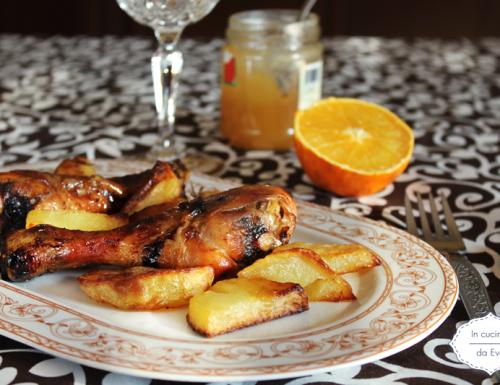 Pollo arancia e miele