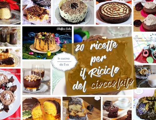 20 ricette per il Riciclo del cioccolato