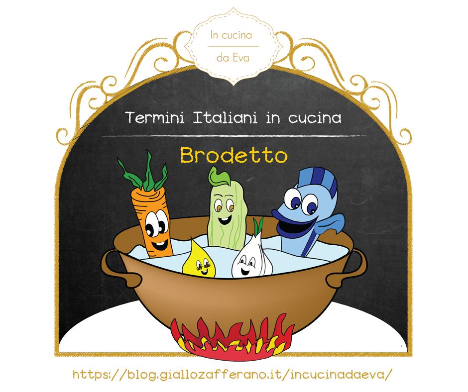 Brodetto termine della cucina italiana