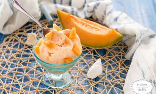 Gelato al melone e yogurt